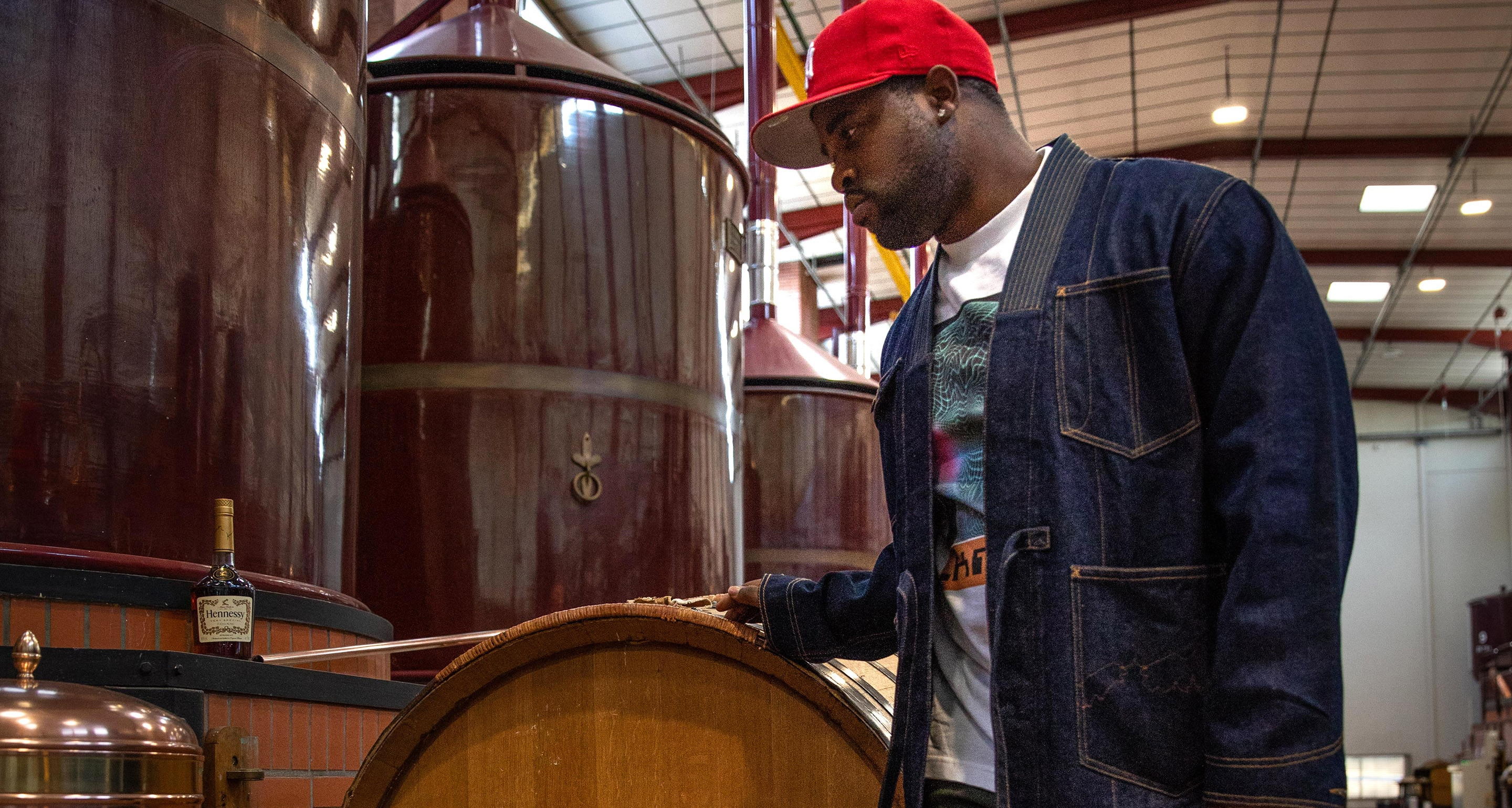 ASAP FERG GOES TO COGNAC