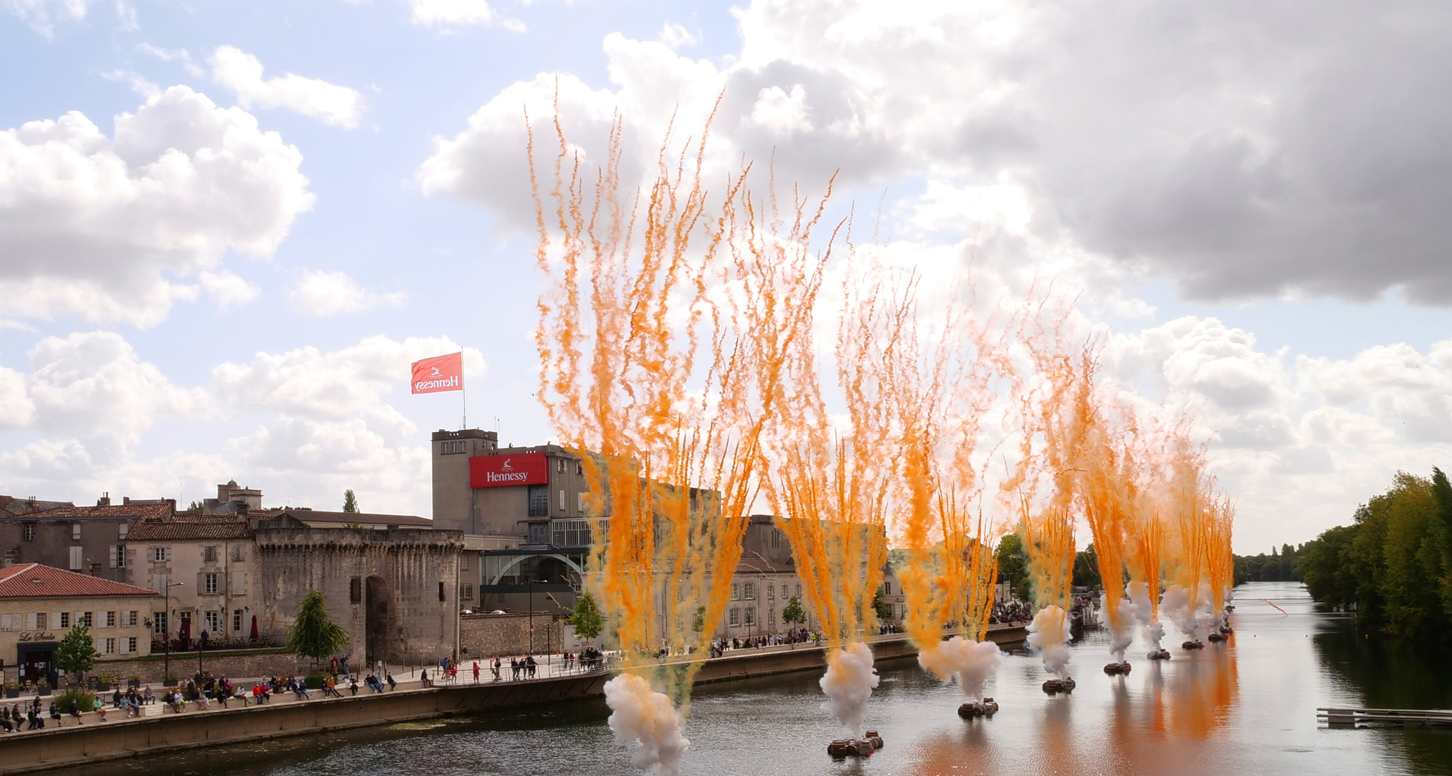 CAI GUO-QIANG LIVE EVENT IN COGNAC, FRANCE
