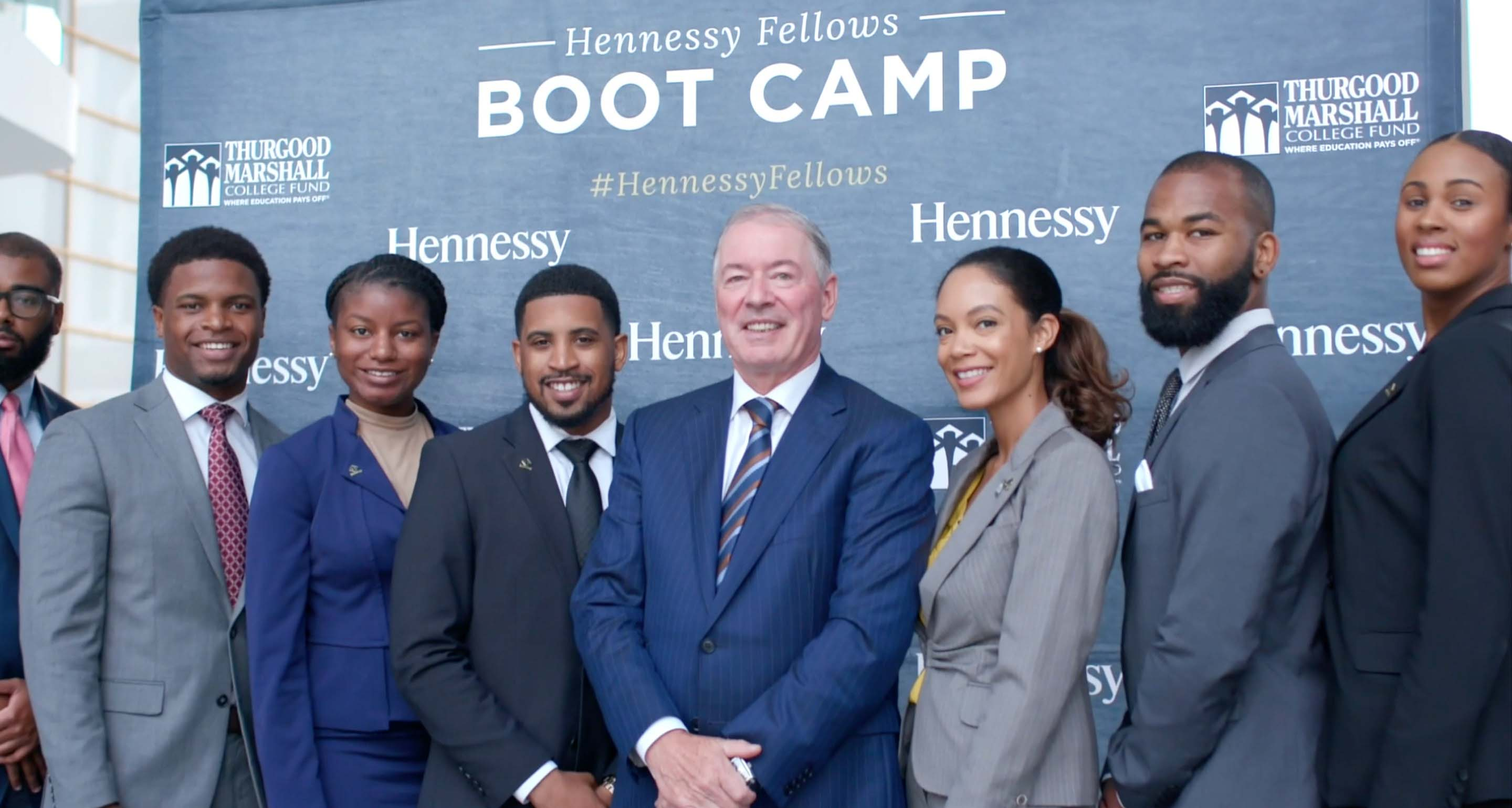 Hennessy has partnered with the Thurgood Marshall College Fund to create The Hennessy Fellows Program - video narrated by Nas.