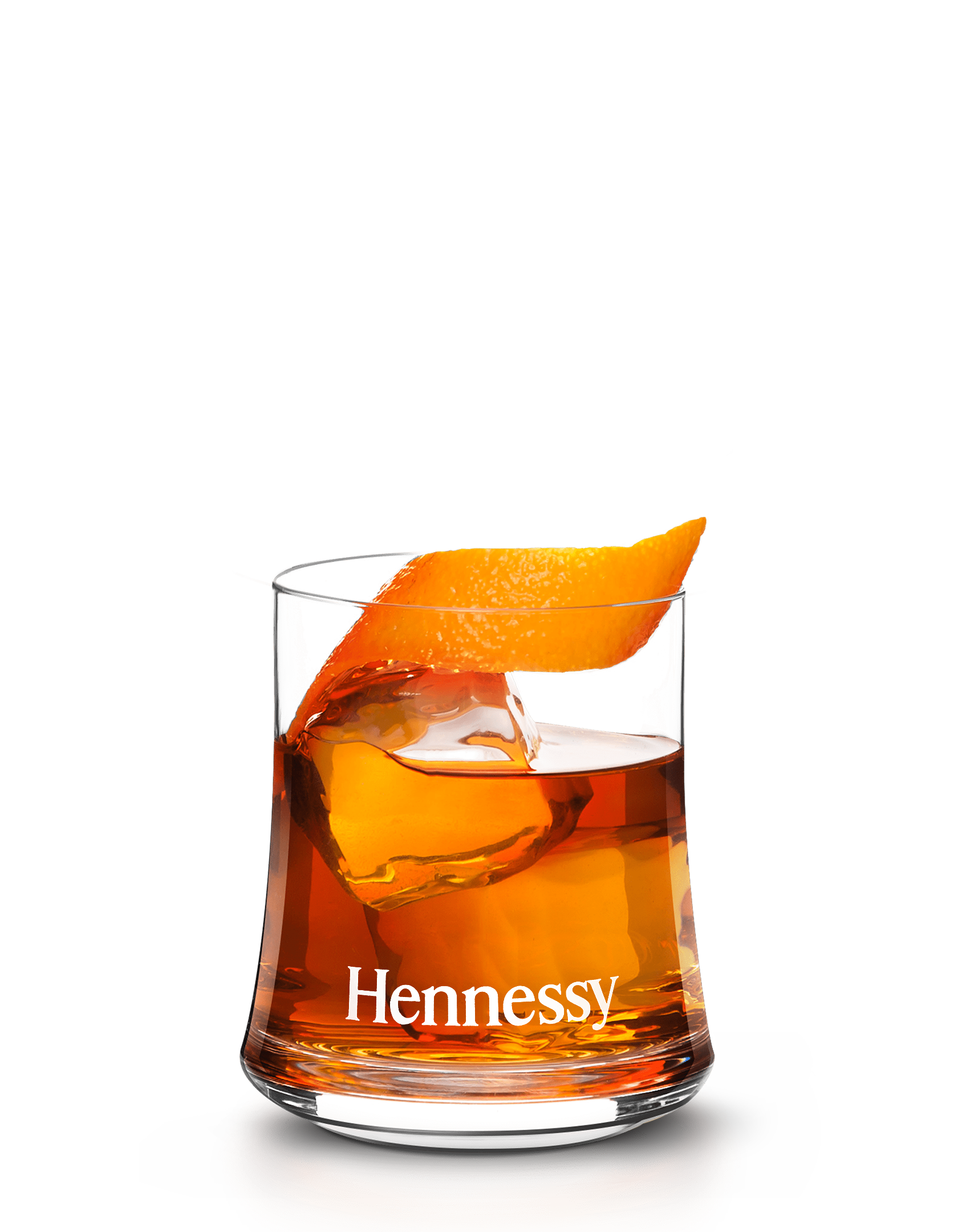 NBA cocktail, the Hennessy Old Fashioned On-court, featuring Hennessy cognac