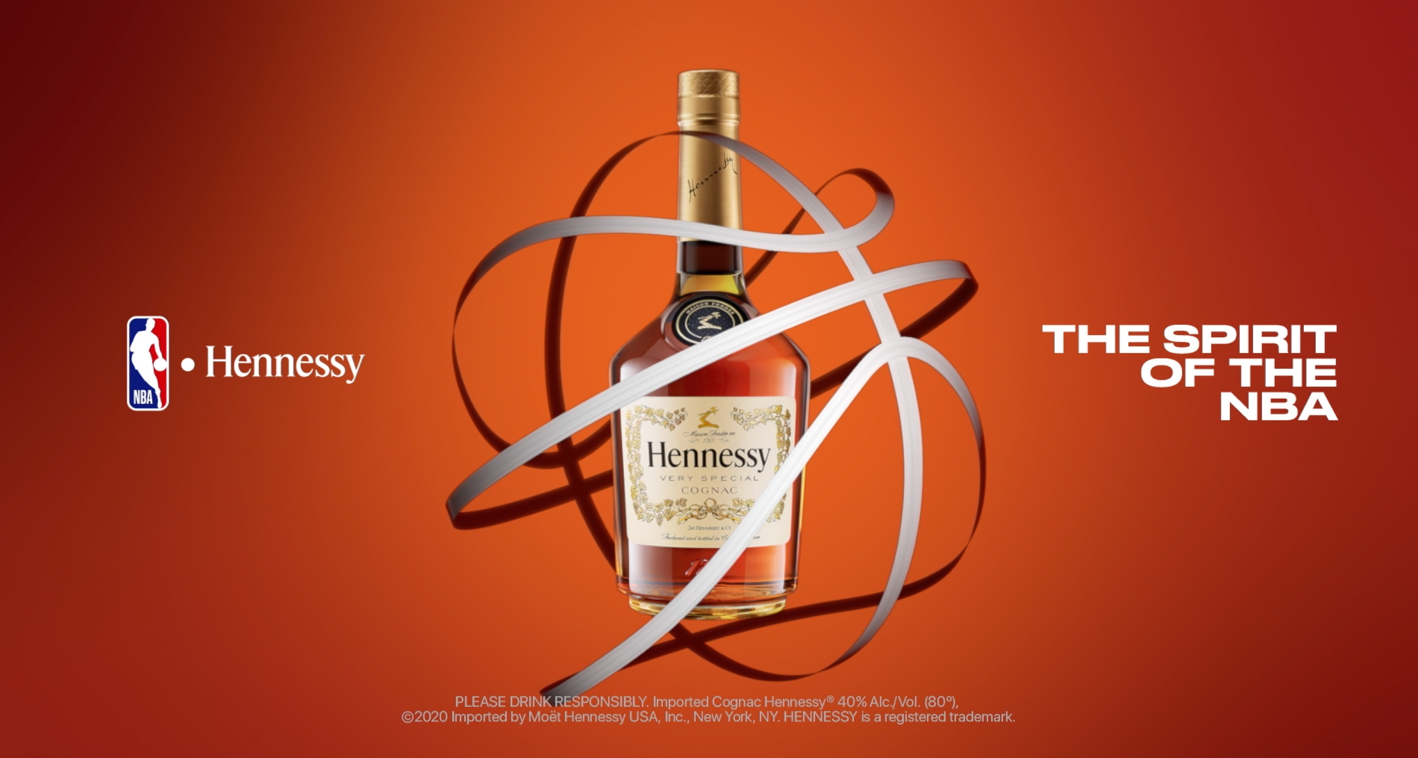 Hennessy celebrates the return of the NBA