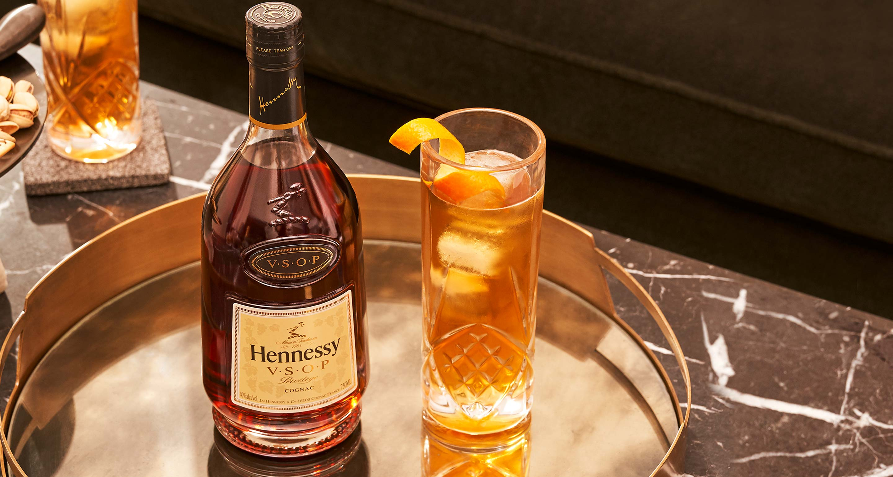 NBA cocktail, the Hennessy Sonic, featuring Hennessy cognac