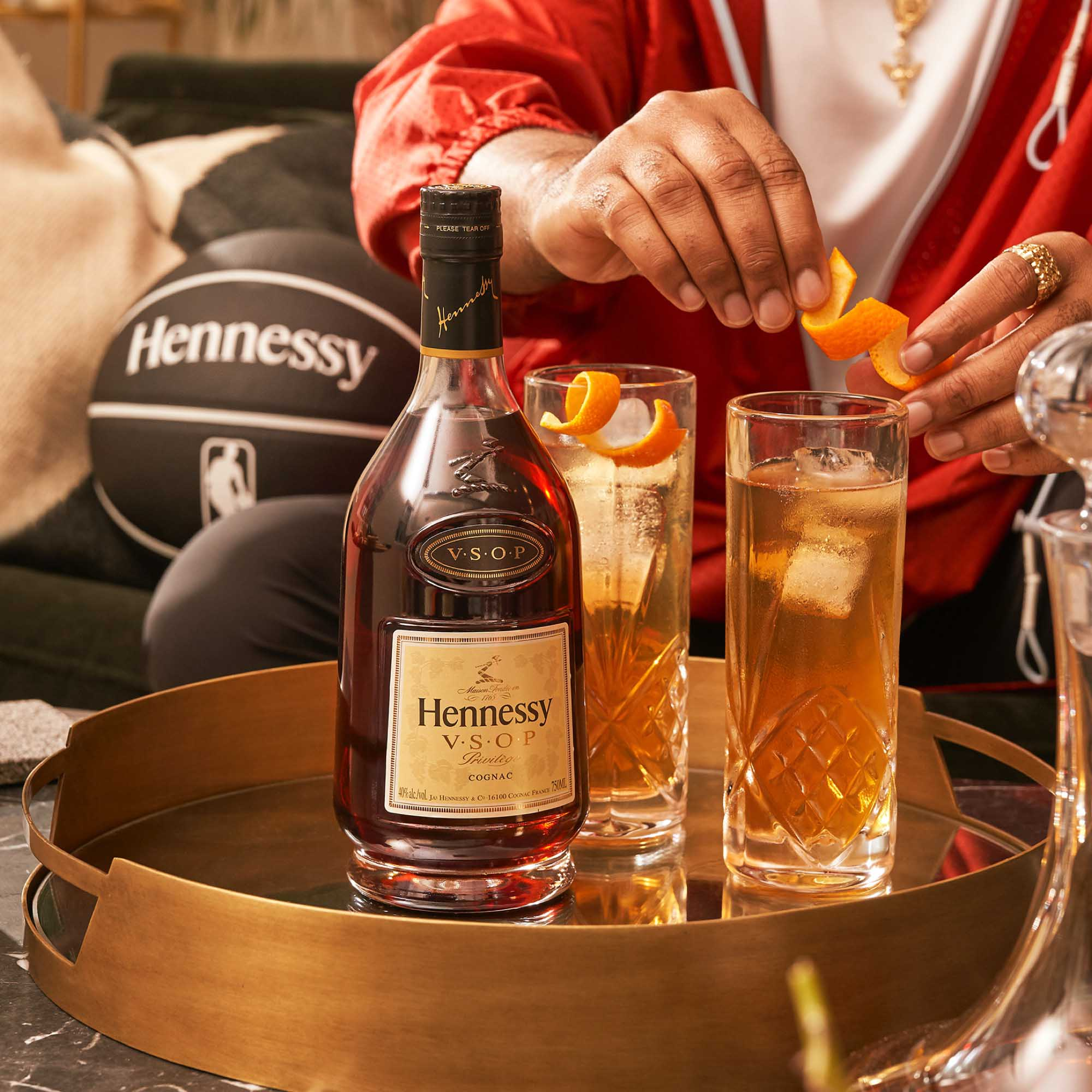 NBA cocktails featuring Hennessy Cognac